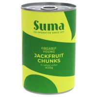 Suma Organic Jackfruit Chunks in Salted Water 400g